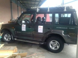 jeep - missione ebola in sierra leone